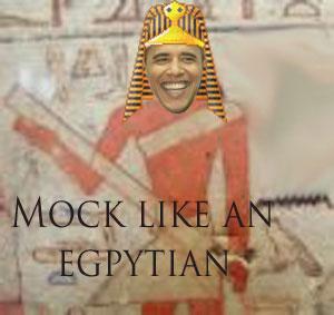 Mock like an Egyptian